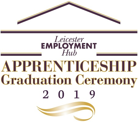 Leicester Employmet Hub graduation ceremony logo
